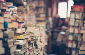 Bücherstapel Visionen