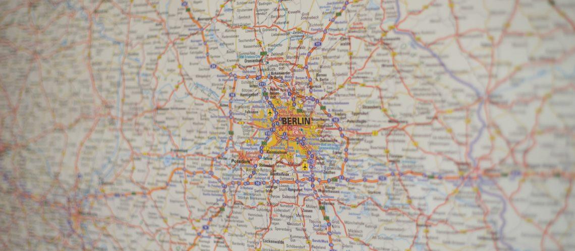 Stadtkarte Landkarte von Berlin und Umgebung