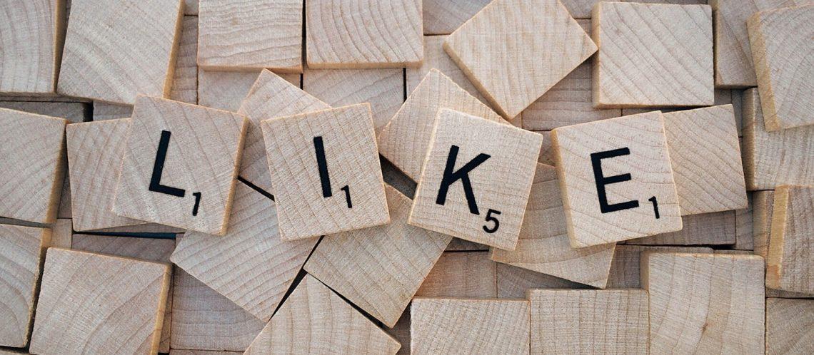 Scrabble Wort Like zum Artikel mit dem Thema: Neue Wörter im Duden 2017