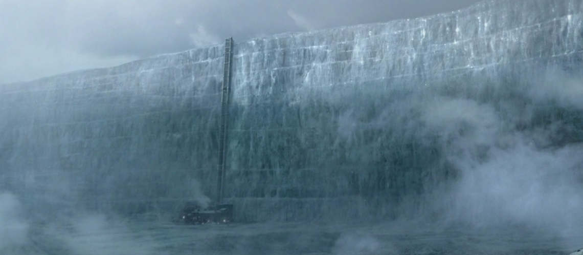 Die Eismauer von Game of Thrones zum Artikel: Vom Teppich zum GoT-Mantel: IKEA macht einen Marketing Gag draus