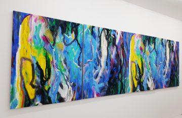 DAM Gallery: Ausstellung Mirror Finish von Siebren Versteeg; Kunstwerk Tank A Tank B