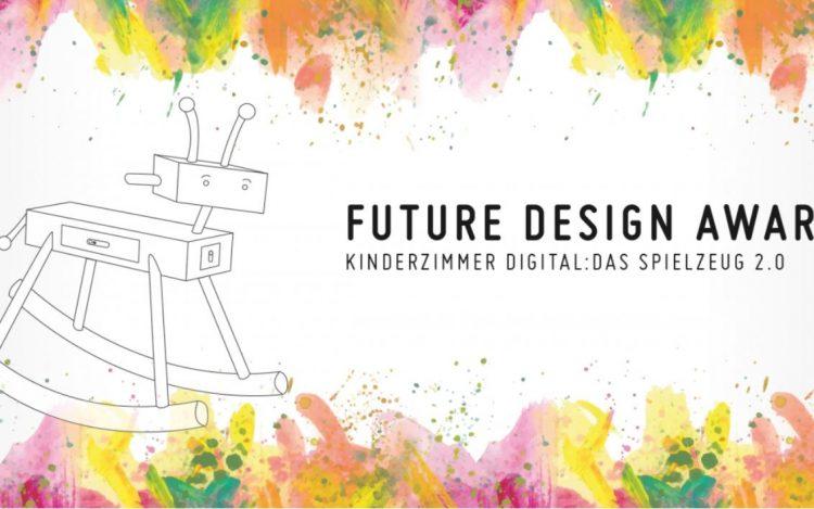 Schaukelpferd mit Roboterkopf bunte Farben zum Artikelthema Future Design Award: Das Spielzeug 2.0