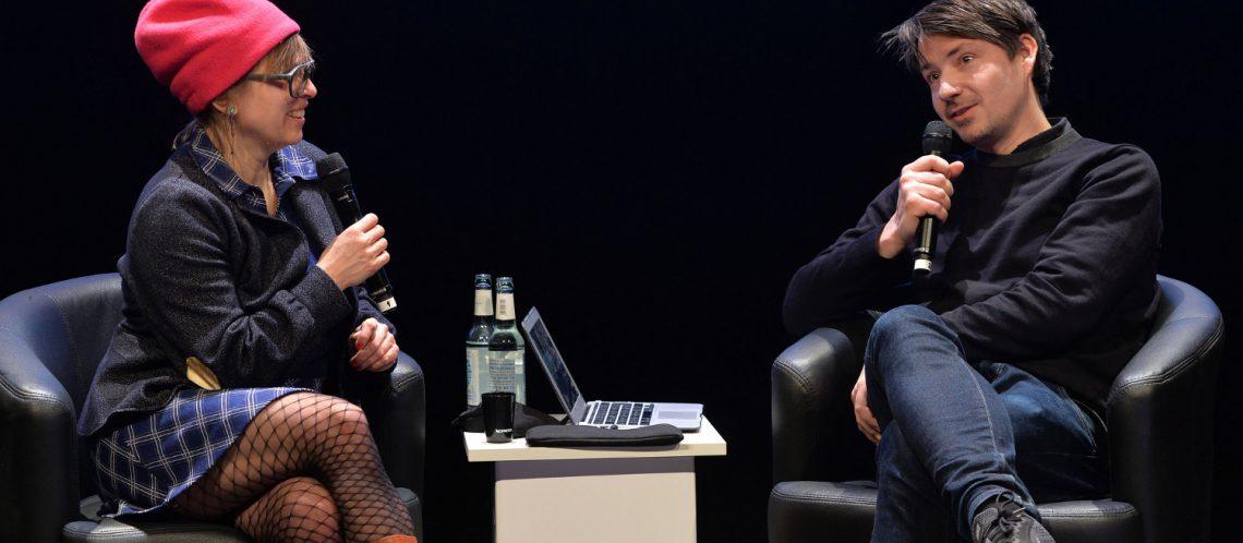 Mischa Leinkauf Maike Mia Höhne zum Artikelthema Berlinale Talents Talk: Meinung, Freiheit und Politik in der Kunst