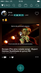 Screenshot Vero