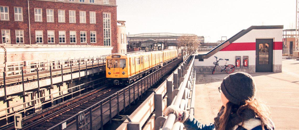U-Bahn fahren