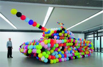 Berlinzulage Ausstellungsobjekt Hemmert im Künstlerhaus Bethanien; Foto:Helmut Claus, Köln