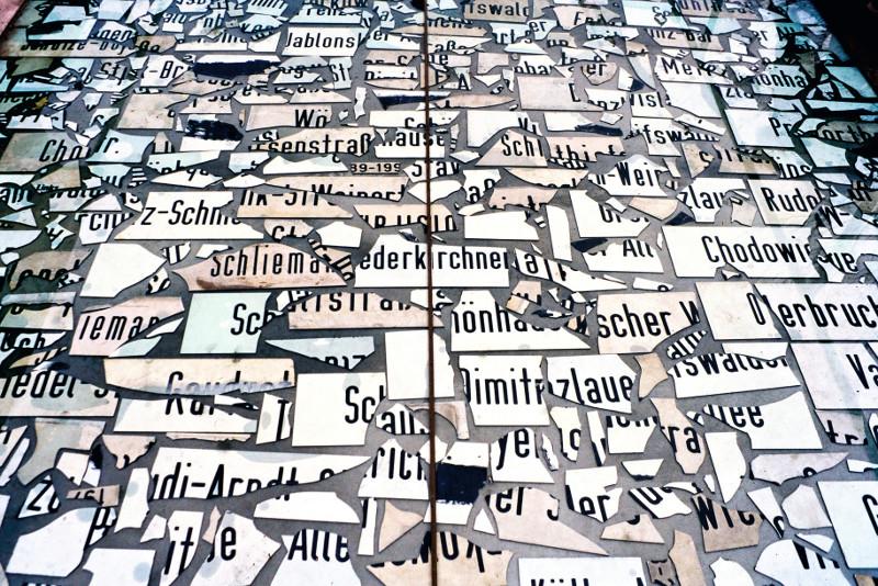 Kunstwerk aus der Ausstellung Berlinzulage im Künstlerhaus Bethanien