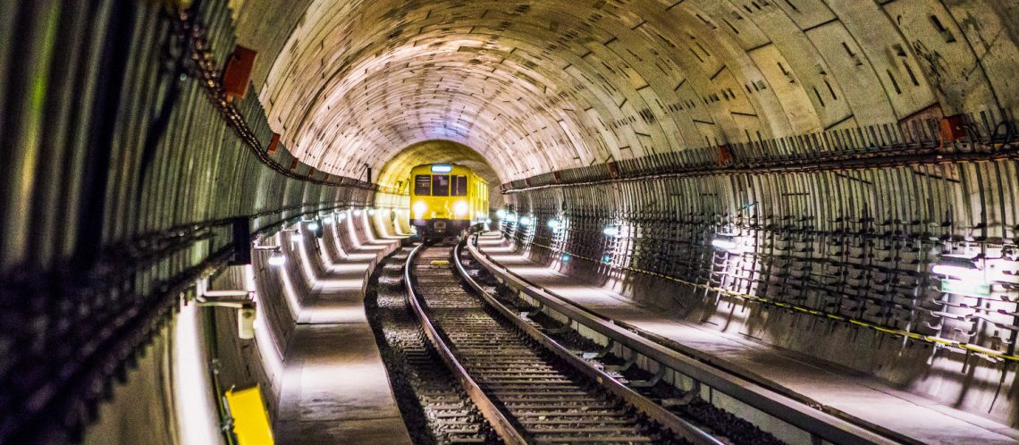 BVG Berlin: U-Bahn im Tunnel