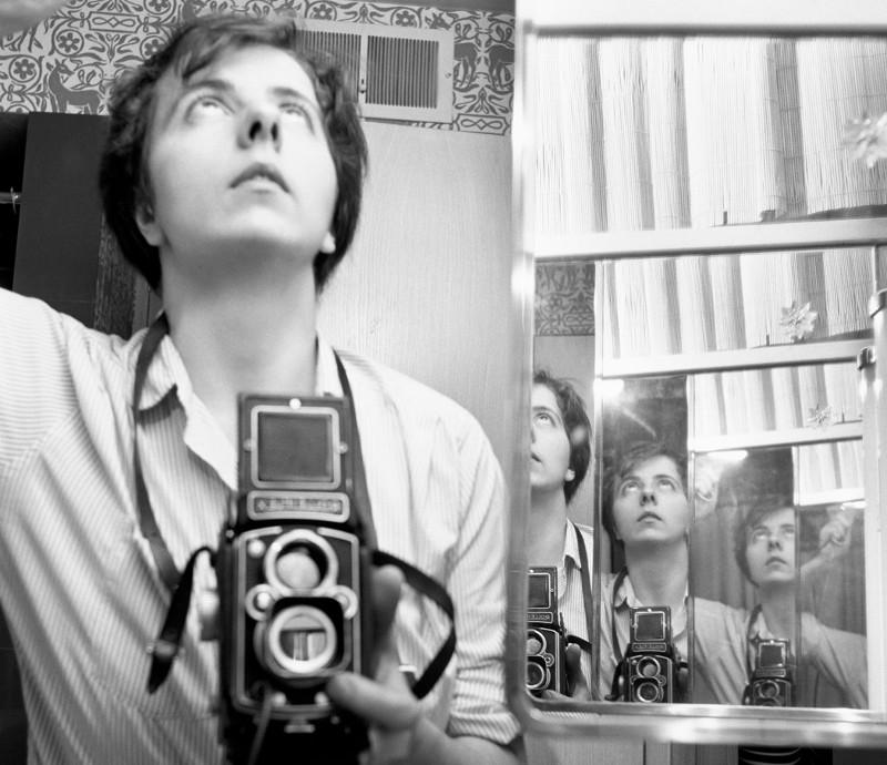 Vivian Maier Fotos, Selbstporträt