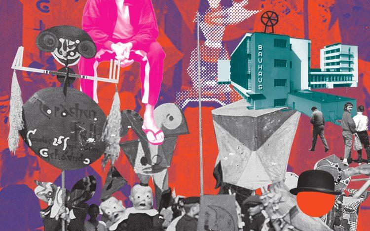 Kultur in Berlin: Bauhaus Collage
