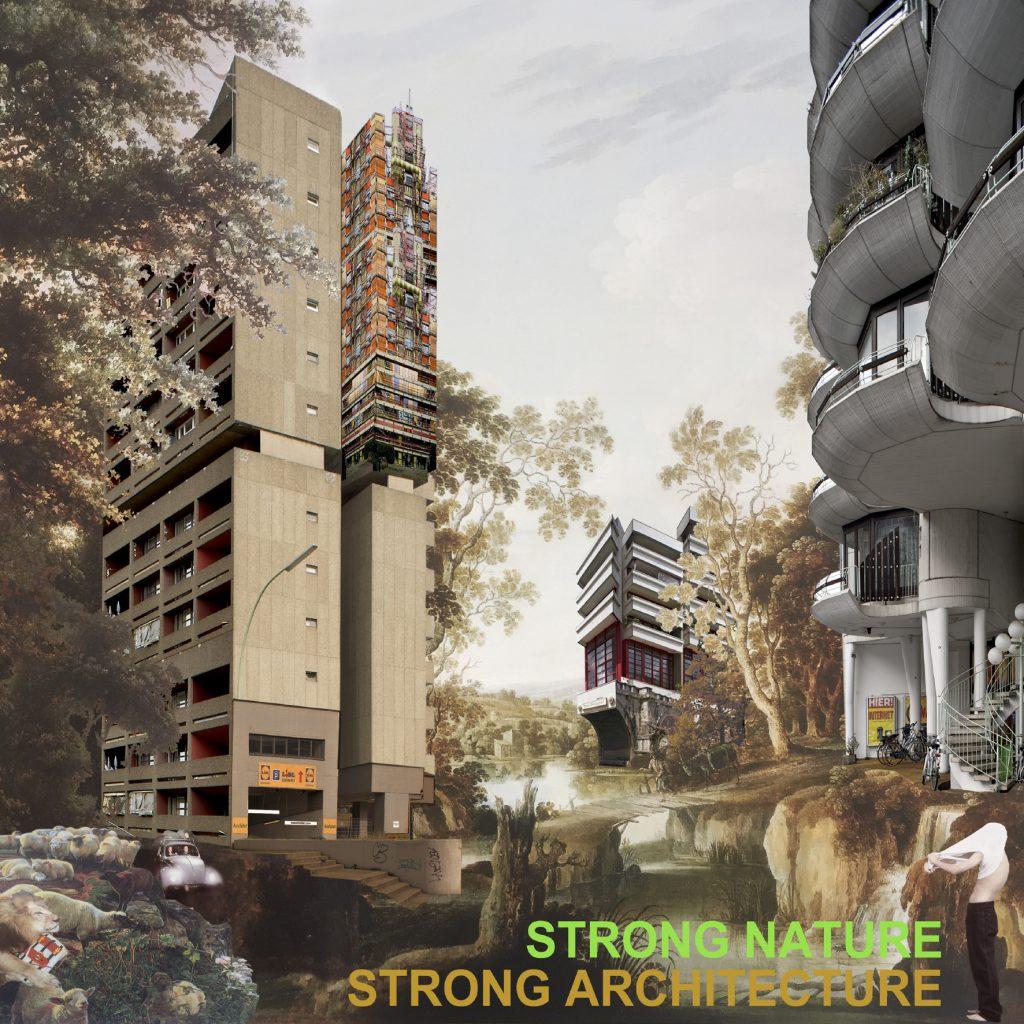 BDA Werk zur Zukunft, Stadtentwicklung Berlin: STRONG NATURE STRONG ARCHITECTURE von Andrew Alberts