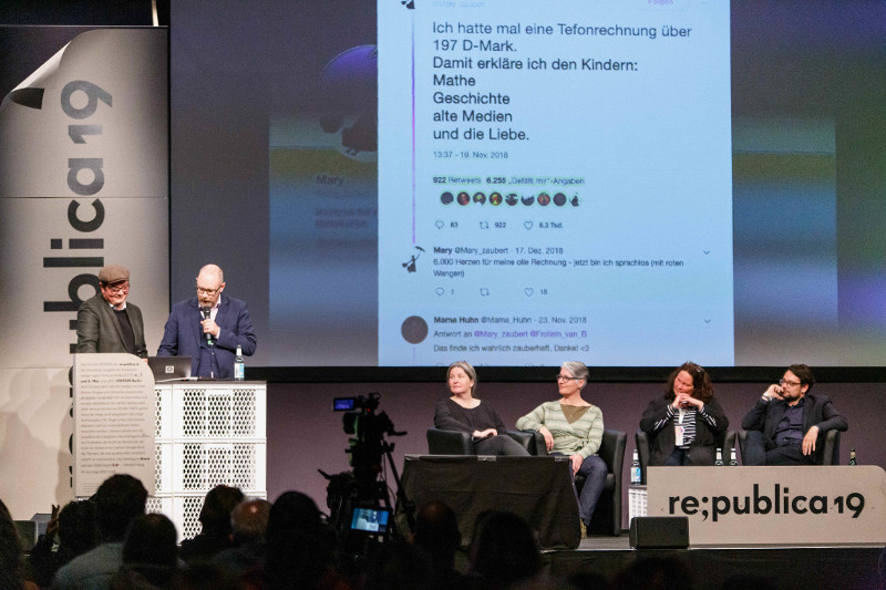 republica 2019: Talk: Twitterlesung