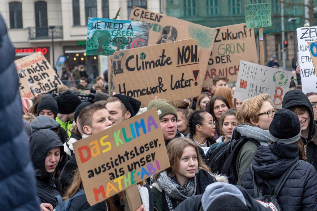 fridays for future Berlin: Klimastreik