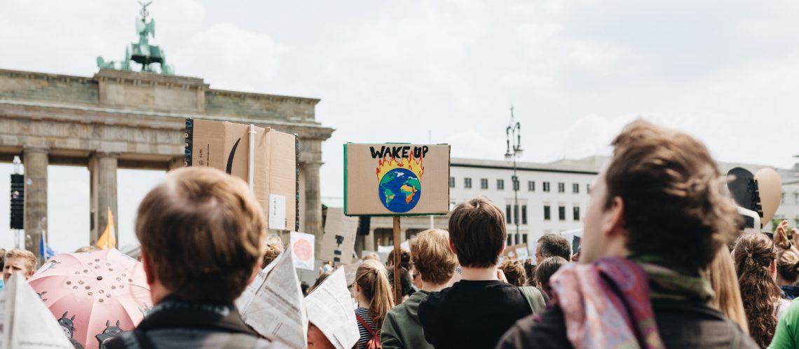 fridays for future, Berlin: Klimastreik vor dem Brandenburger Tor