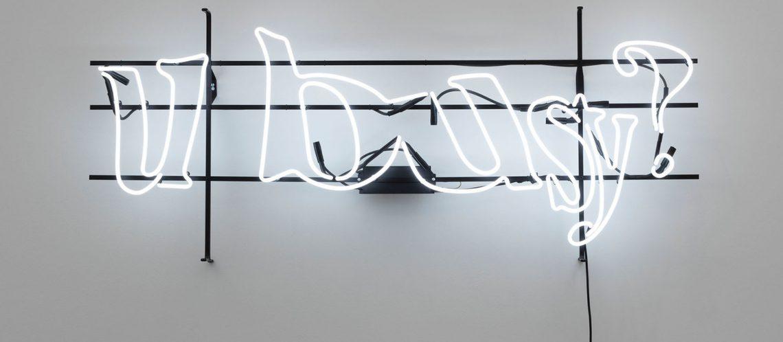 Digitale Kunst: Werk aus Ausstellung Behind the Screen